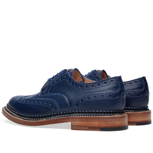 Grenson Archie Triple Welt Navy Country