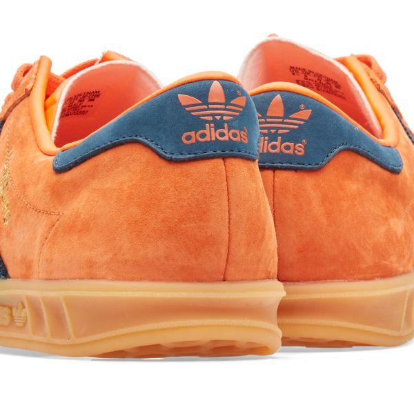 adidas hamburg noir orange