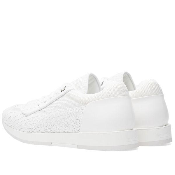 Jimmy Choo Jett Sneaker White Embossed