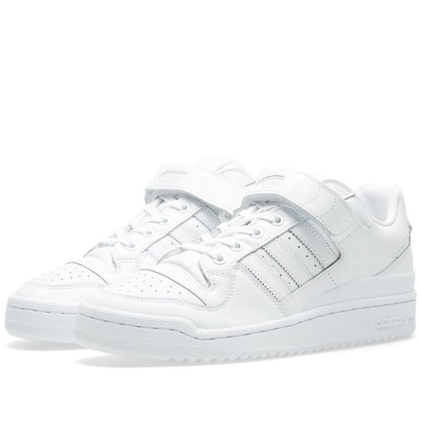 Litoral Risa jerarquía  Adidas Forum Lo Refined White & Core Black | END.