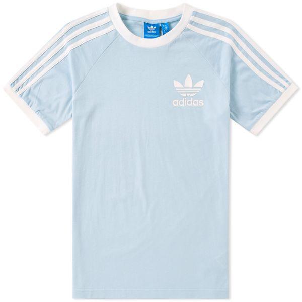 adidas California T Shirt   DZ4586 White Blue   Aphrodite1994