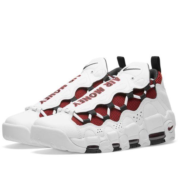 Nike Air More Money White, Black \u0026 Team