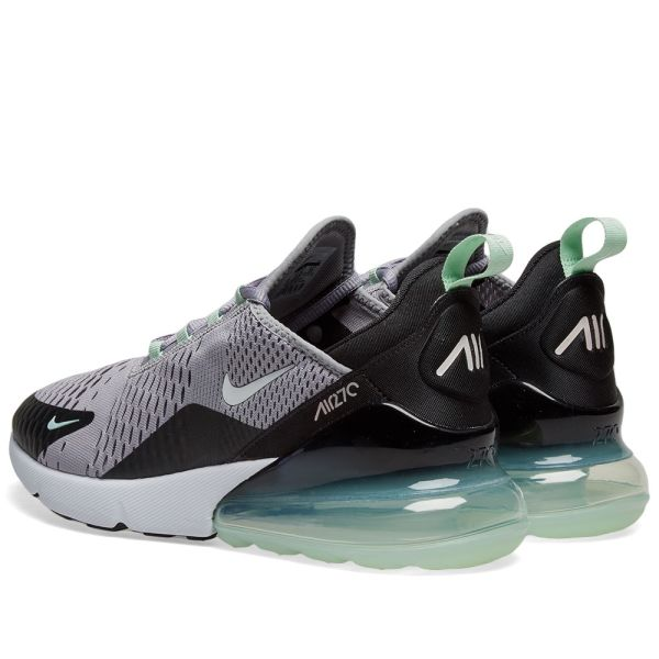 Men's Nike Air Max 270 Running Shoes Grey White Mint Sz 11.5 CJ0520 001