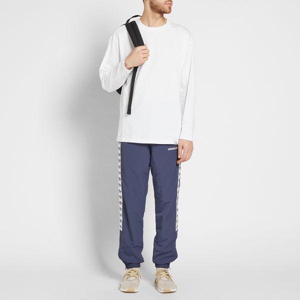 adidas TNT Tape Wind Pant Trace Blue White   Footshop