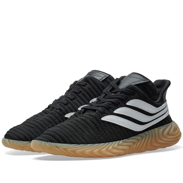 Adidas Sobakov Core Black, White \u0026 Gum