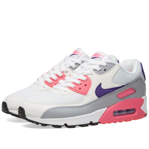 nike air max 90 grey pink purple