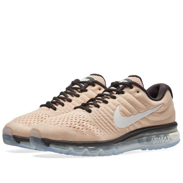nike air max 2017 tan running shoes