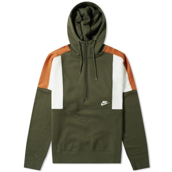 Green Nike hoodie Army Green Nike hoodie Nike Tops