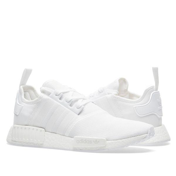Adidas NMD_R1 Triple White | END.