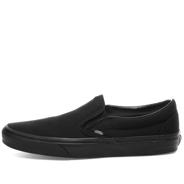 Vans Classic Slip On Black \u0026 Black | END.