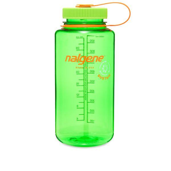 Nalgene Wide Mouth Tritan Sustain Water Bottle This melon green water bottle  is part of   END.