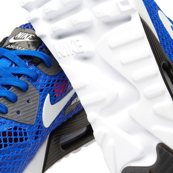 Nike Air Max 90 Ultra BR Plus QS Racer Blue. White & Dark