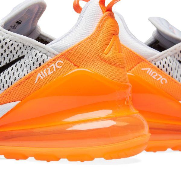 Nike Air Max 270 WhiteOrange Black AH6789 104