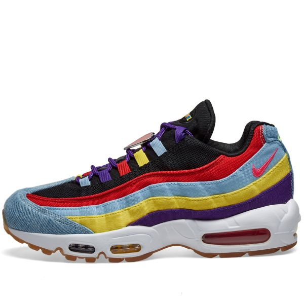 Nike Air Max 95 Sp Psychic Blue Yellow White End