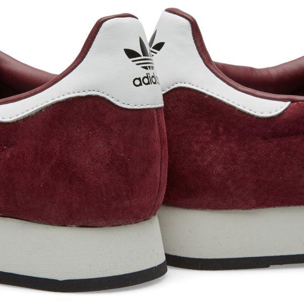 adidas samoa vintage maroon
