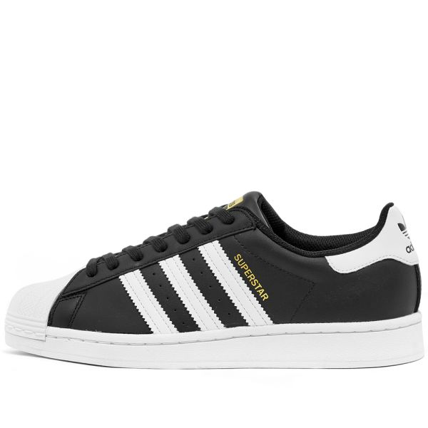 adidas superstar black white and grey