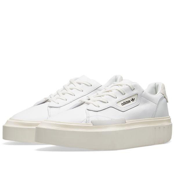 Adidas Hypersleek W White, Off White \u0026 Crystal | END.