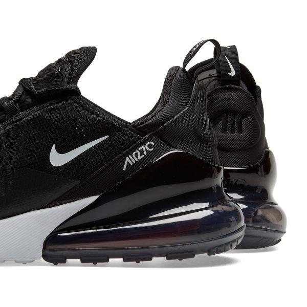 Off White X Nike Air Max 270 s Ah8050 002 Black White Shoe