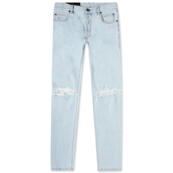 Balmain Slim Distressed Jean