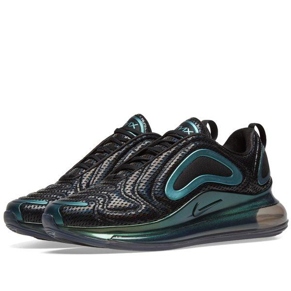 Nike Air Max 720 'Iridescent Mesh' Shoes Black Black