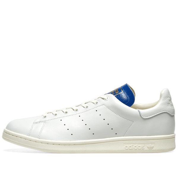 Adidas Stan Smith Blue Thread White