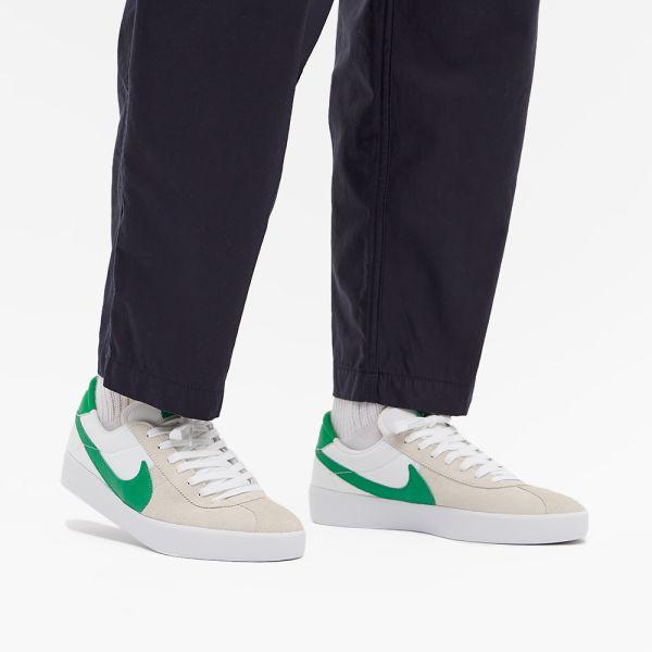 Nike SB Bruin React White & Lucky Green | END.