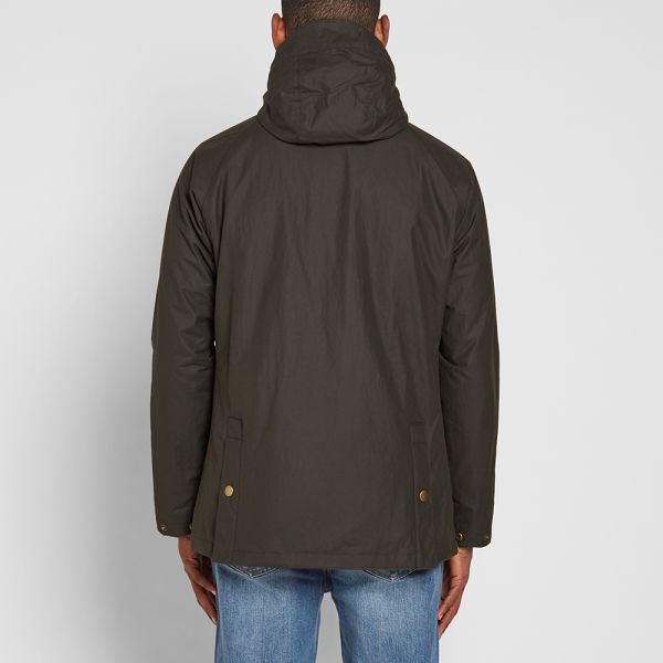 barbour bedale hooded
