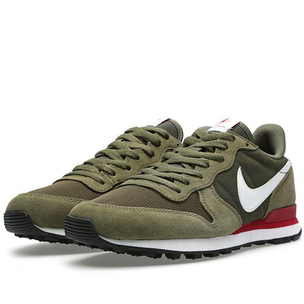 Nike Internationalist leather (Cargo Khaki Sail Medium