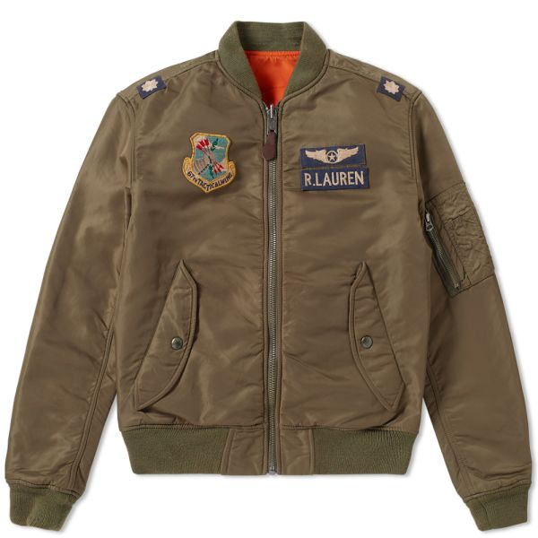 Polo Ralph Lauren Vintage Military Bomber Jacket