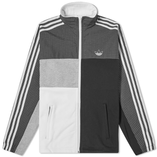 adidas fleece white