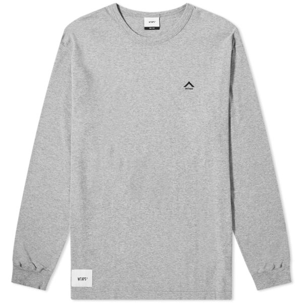 best price exclusive deals available WTAPS Long Sleeve Humvee 02 Tee Grey | END.