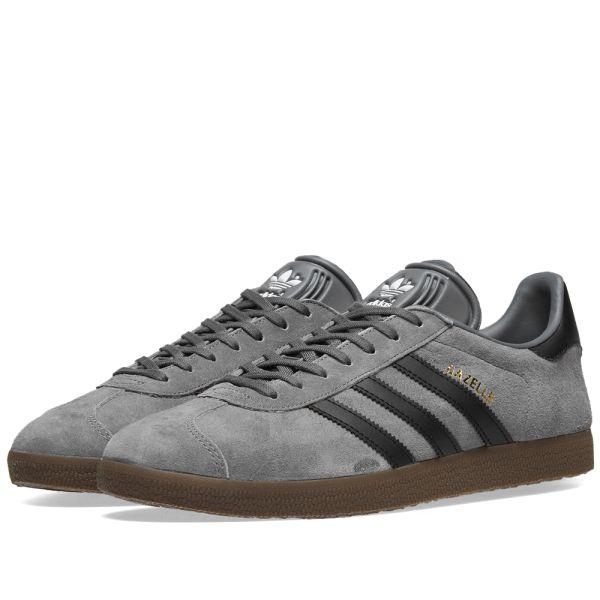 gey noir adidas gazelle 5 9 E2IDHW9