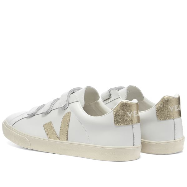 Veja Esplar 3-Lock Velcro Sneaker White