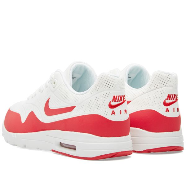 An NIKE Nike AIR MAX 1 ULTRA MOIRE air force 1 ultra moire 705297 001 US8.5 26.5cm sneakers black white men consumption tax is crowded, and it is used