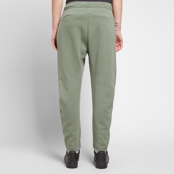 nike tech fleece green and grey
