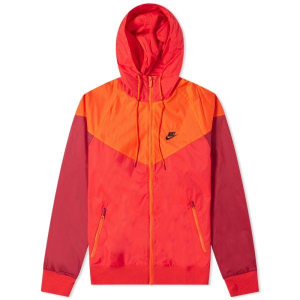Disponible Predecesor mental  Nike Windrunner Jacket University Red, Orange & Black | END.