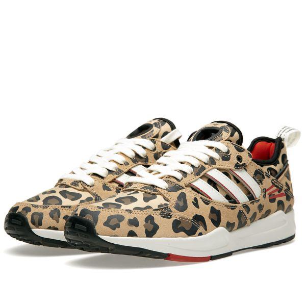 adidas tech super leopard