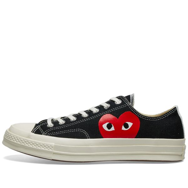 Black Play Converse Chuck Taylor Low | Comme des garcons