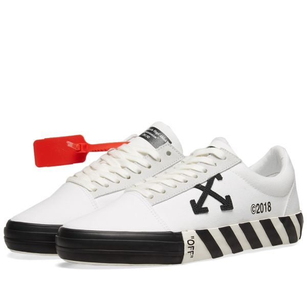 Off-White Vulcanised Striped Low Top
