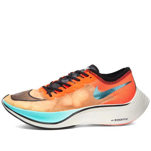 Nike ZoomX VaporFly Next% Hakone Ekiden Aurora Green & Hyper ...