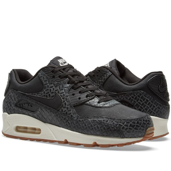 Details about Nike Air Max 90 Premium Women's Shoes in BlackSail