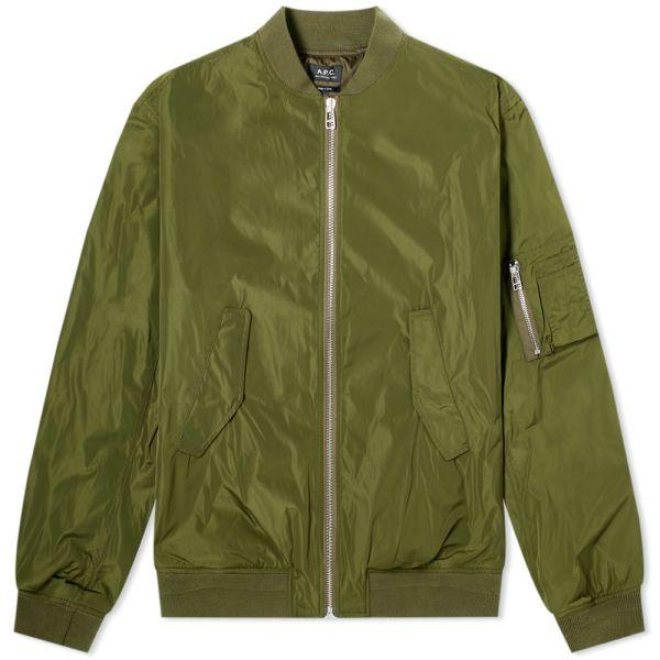 A.P.C. Birmingham Nylon Bomber Jacket