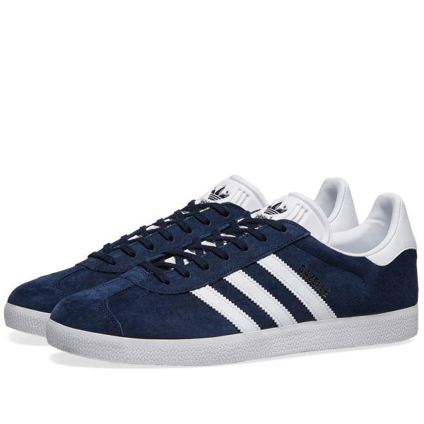 Adidas Gazelle Collegiate Navy \u0026 White