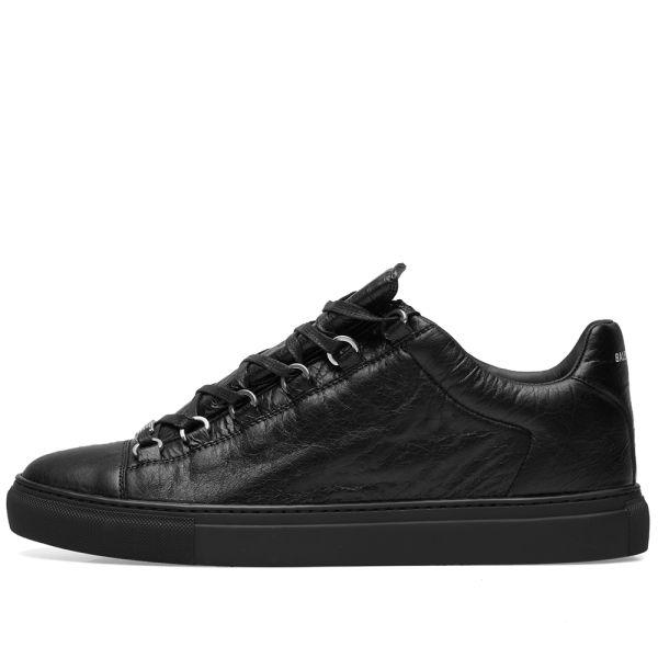 Balenciaga Arena Leather Low Sneaker
