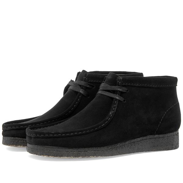 Clarks Originals Wallabee Boot W Black
