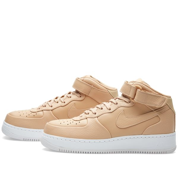 NikeLab Air Force 1 Mid Vachetta Tan
