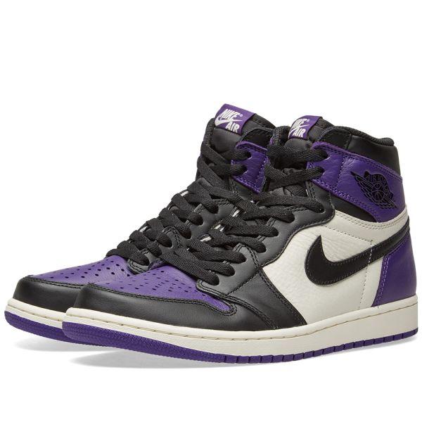 nike air jordan 1 violet