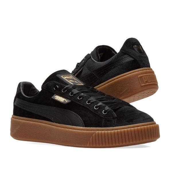 Puma Basket Platform vs Women's Sneaker Shoes 366721 03