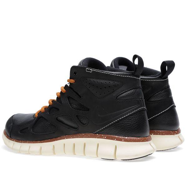 Nike Free Run 2 Sneakerboot QS Black   END.
