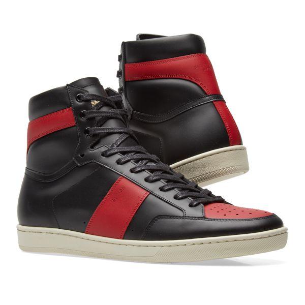 Saint Laurent SL-10 High Sneaker Black
